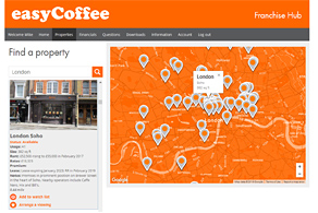 easyCoffee Franchise Hub